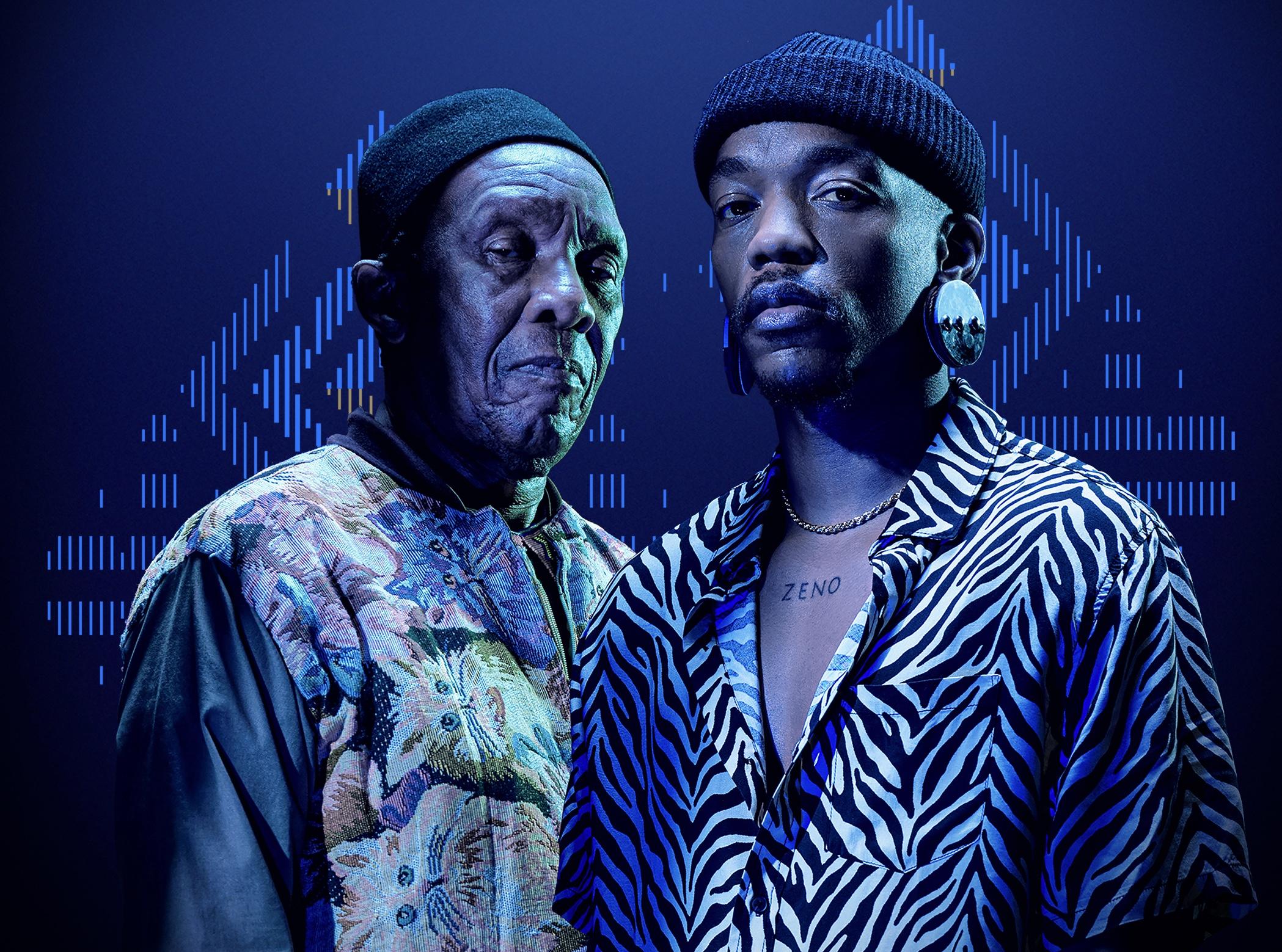 Madala Kunene and Muzi Collaborate On A Song
